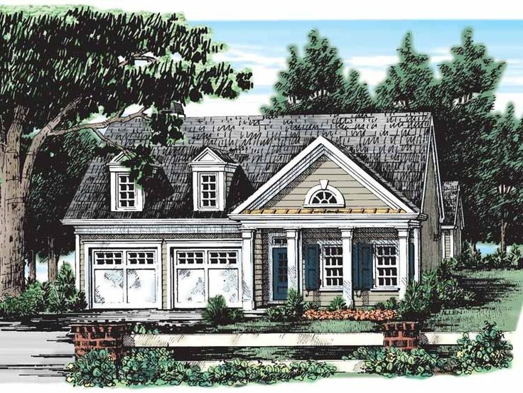 Eplans cottage house plan one story wonder 1437 square for Eplans cottage house plan
