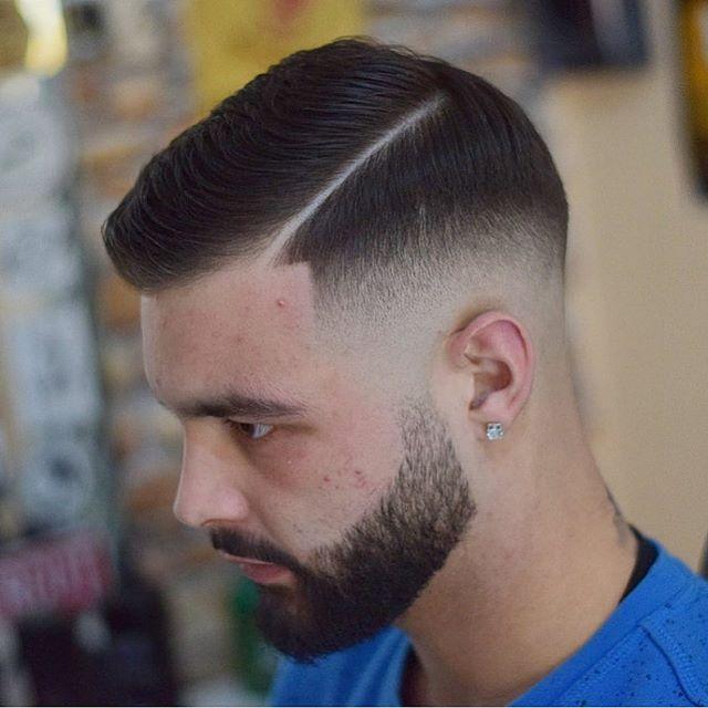 75 Manner Kurze Verblassende Frisur In 2020 Rasiert Seite Frisuren Mannerhaare Teenager Haarschnitt