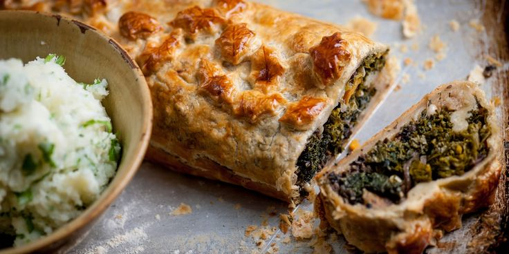 A rich, hearty veggie-only Wellington recipe is a luxurious meal for vegetarians and non-vegetarians alike