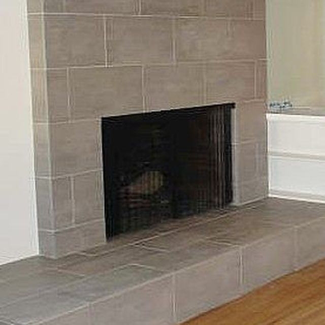 How to tile over a brick fireplace fireplaces tile and - Tiling a brick fireplace ...
