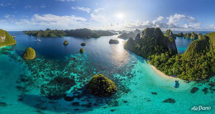 インドネシアのラジャ・アンパット諸島、バヤグ諸島