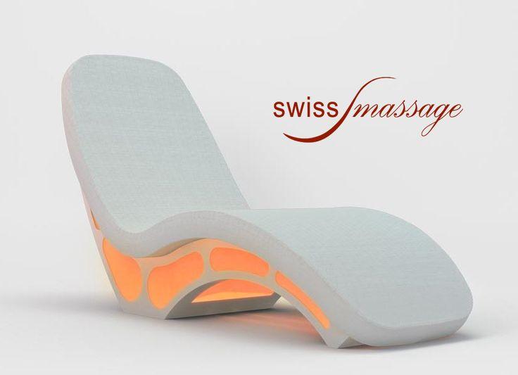 Fauteuil de SPA Relaxation Chromothérapie isobenessere Swissmassage