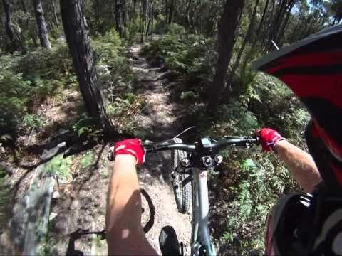 Downhill and Mountain #bike trails in Tasmania, Australia