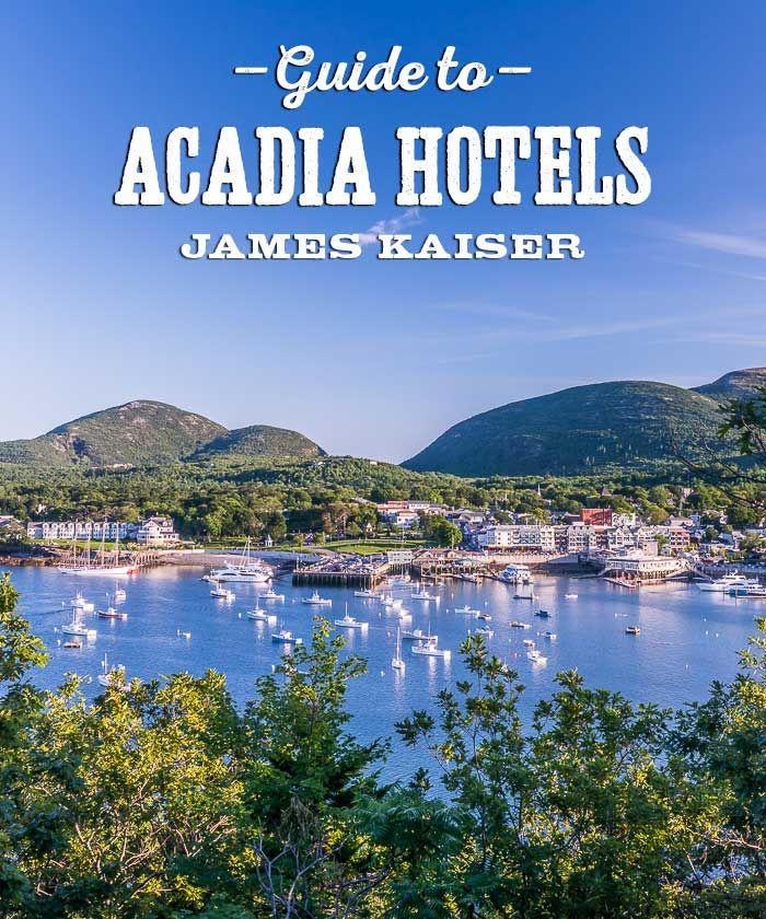 Acadia National Park Hotels and Lodging