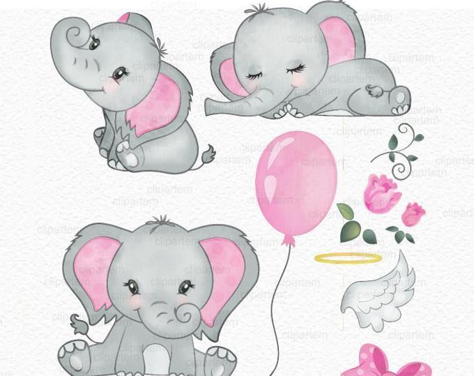 Purple Turquoise Elephant Clip Art Watercolor Watercolor Etsy Baby Elephant Drawing Elephant Clip Art Baby Elephant