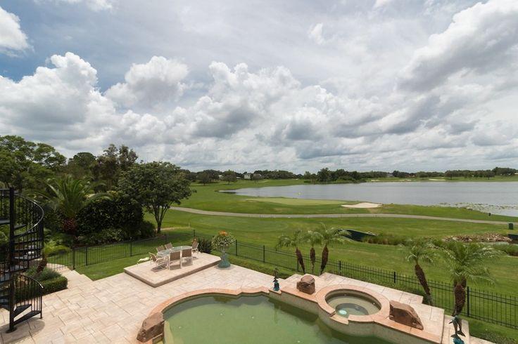 Bay Hill Golf Balcony View  Bay Hill Golf Front House | Orlando, FL | 5 BR 4 BA 3.5 CAR | Listing Price: $1,300,000 www.homesfromjan.com