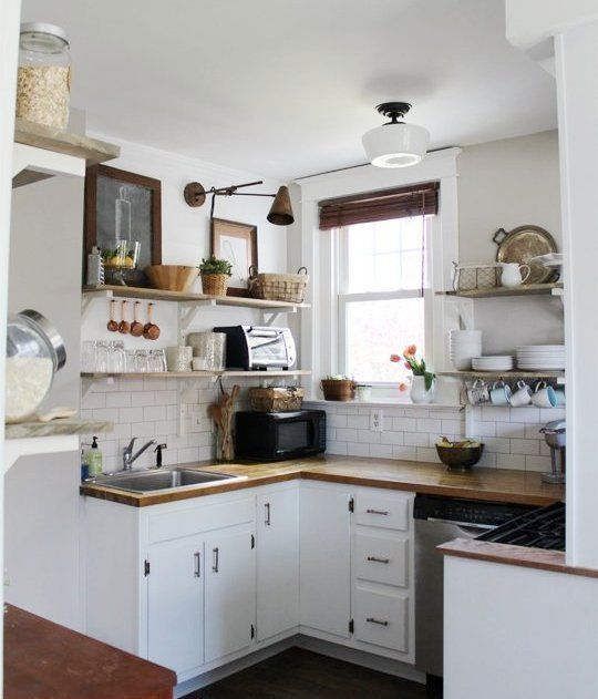 Best 20 small kitchen makeovers ideas on pinterest for Small kitchen ideas apartment therapy