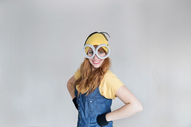 DIY this Minion costume for Halloween.