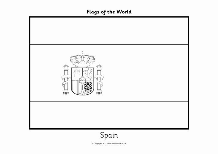 Spanish Flag Coloring Page Luxury Flags Coloring In 2020 Coloring Pages Spain Flag Flag Coloring Pages