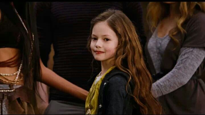 • Renesmee Carlie Cullen •  Renesmee: Renee and Esme. Carlie: Carlisle and Charlie.