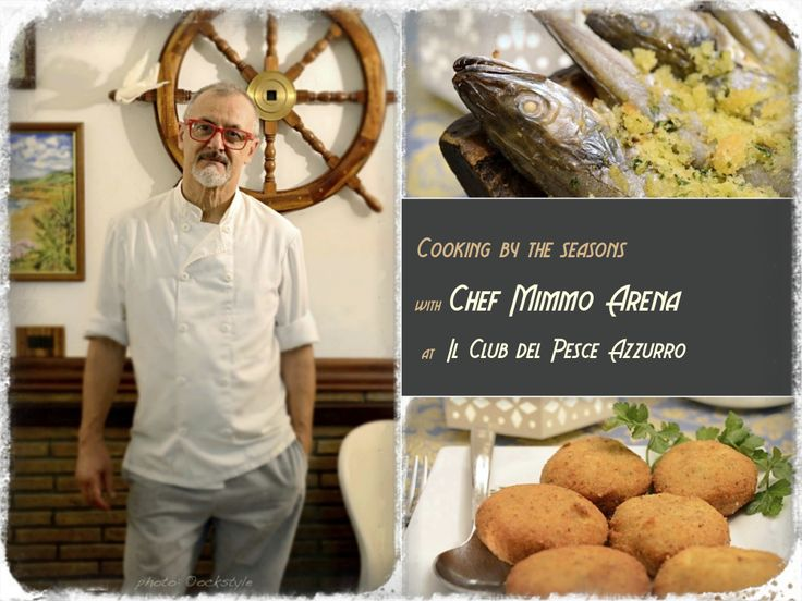 "Is advertising the life of trade? Mimmo Arena, executive chef of ""Il Club del Pesce Azzurro"" answers..."