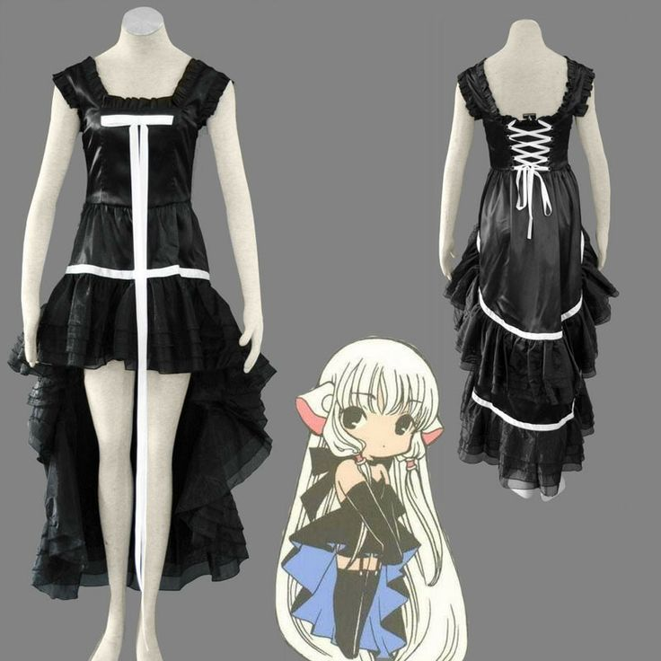 eFunLive - Chobits Gothic Lolita anime Halloween cosplay costume womens dress, $42.12 (http://www.efunlive.com/chobits-gothic-lolita-anime-halloween-cosplay-costume-womens-dress/)
