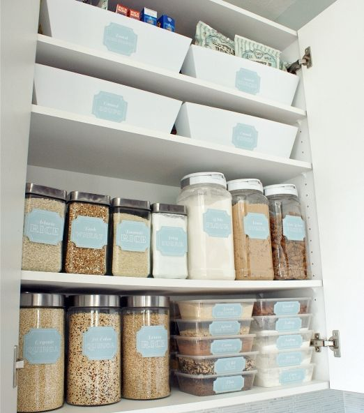 How To Organize a Small Pantry   Austin Moms Blog