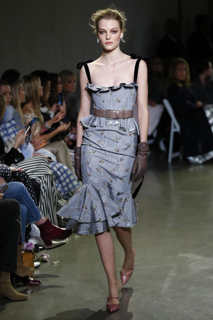 Brock Collection Fall 2018 Ready-to-Wear Fashion Show Collection