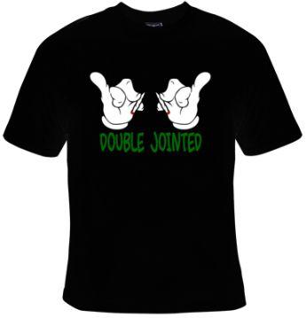 Double Jointed Cartoon Hands T-Shirt Women's