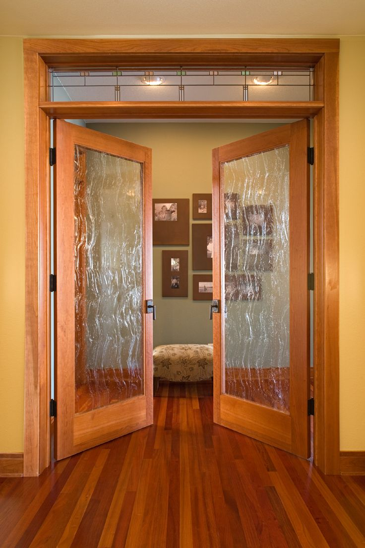 Clear glass interior doors - Interior Doors Custom Full Lite Rain Glass Doors With Custom Leaded Glass