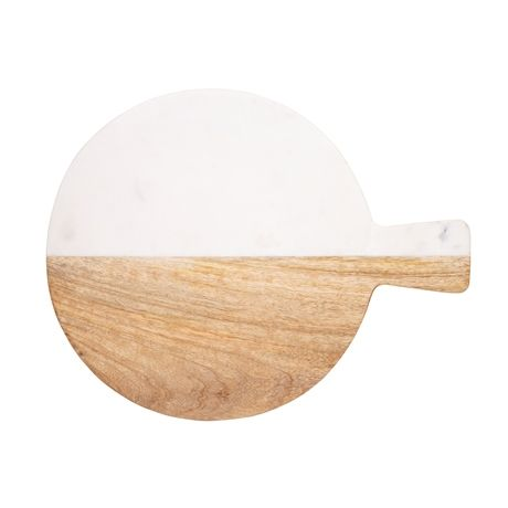 Duo Cheese Board 38cm  Natural
