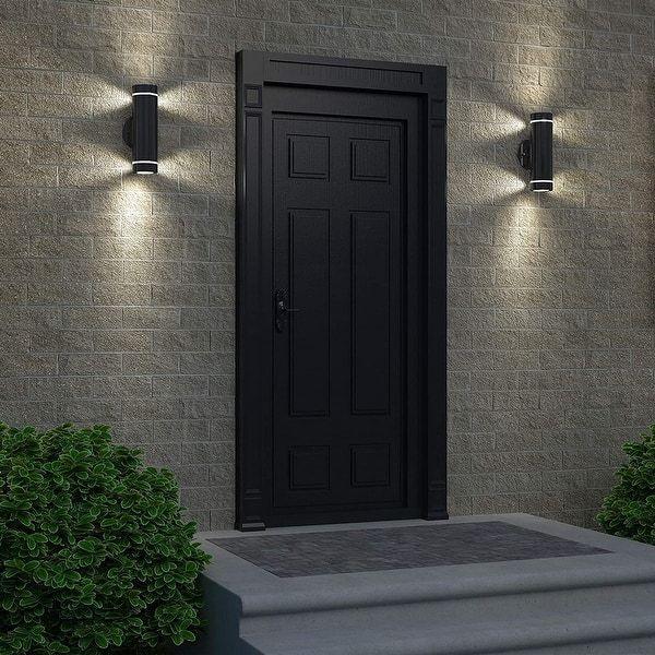 House Lighting Outdoor, Modern Garage Sconce Lights