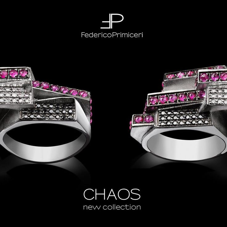 Shaping the material into art, in unusual and complex beauty images, in figures generated by ideas and emotions.  CHAOS COLLECTION 2016_by Federico Primiceri  #federicoprimiceri #federicoprimiceriluxuryjewelry #luxury #handmade #unico #jewelry #madeinitaly #jewellery #newcollection #diamonds #blackdiamons #sapphire #rubies #newrelease #craftsman #goldsmith #collezione2016 #puglia #lecce #milano #firenze #paris #vogue #voguegioiello #condenast #glamour #inspiration #joydivision #escher