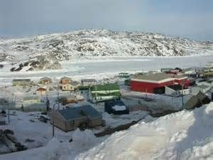 """Kimmirut ᑭᒻᒥᕈᑦ; known as Lake Harbour until 1 January 1996 is a community in the Qikiqtaaluk Region, Nunavut, Canada. It is located on the shore of Hudson Strait on Baffin Island's Meta Incognita Peninsula. Kimmirut means """"heel"""", and refers to a rocky outcrop in the inlet."""