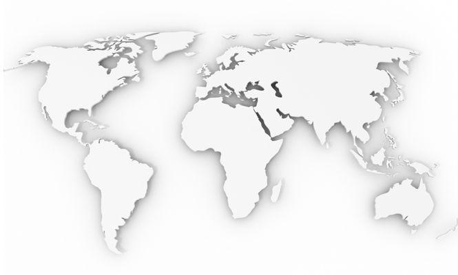 Global Map For Pharma Sector White RAIDA Pinterest Global - Map