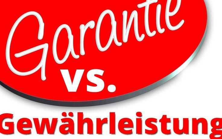 Garantie und Gewährleistung – Was ist Was | www.datenspektakel.de/garantie-und-gewaehrleistung-was-ist-was/