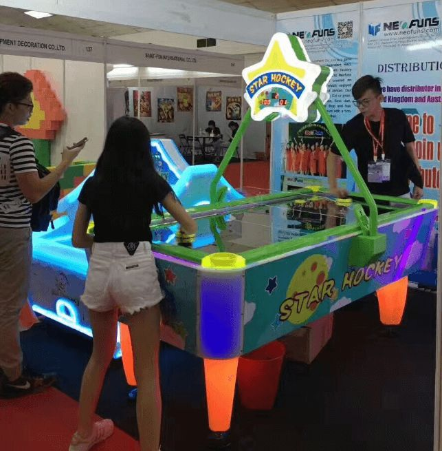 Star Hockey NF-R15A air hockey electronic sports ticket game machine #Vending Machines For Sale #Redemption Games superior #air hockey table
