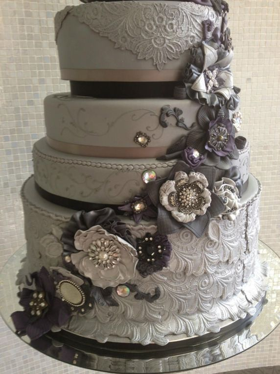 grey wedding cake ideas 25 best ideas about grey wedding cakes on 14984