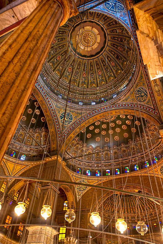 Egypt. Mosque of Muhammad Ali Pasha, aka The Citadel, Cairo