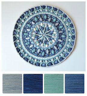 ColourSpun: ColourSpun Colourways - Beverly's Mandala