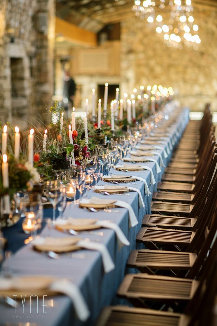 Wedding feast fit for a king and queen. Beautiful tables and decor by Eco-Chic Weddings