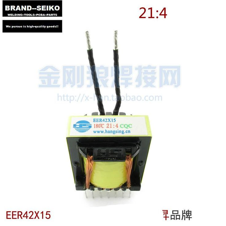 [Visit to Buy] 21:4 Eer43x15 2PCS/LOT Inverter Welding Machine Main Transformer 21:4 Eer43x15 Compatible #Advertisement