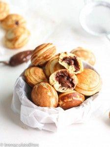 Aebleskiver Danish Pancakes - Immaculate Bites