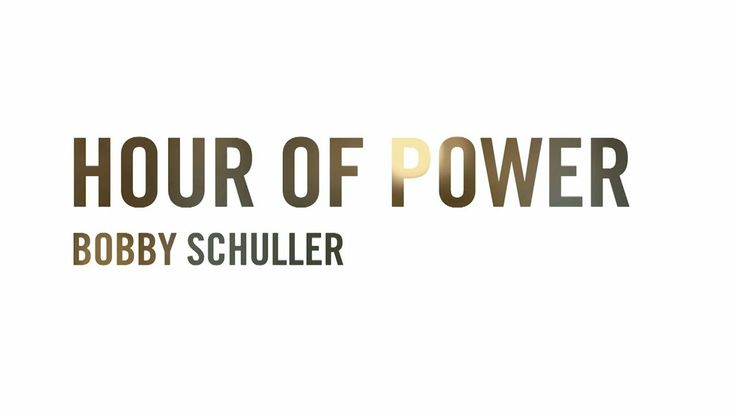 The Church is more than just a building. The Church is people. It's you. It's me. It's all of us. - Bobby Schuller Hour of Power #quote #church
