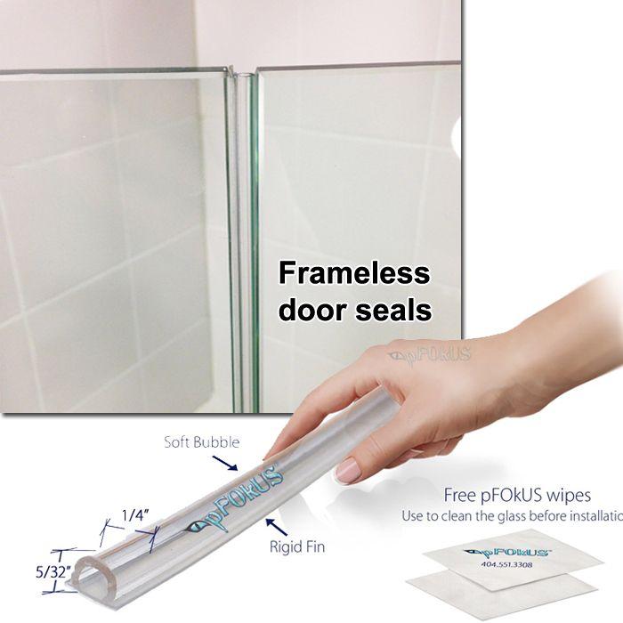 Shower Door Side Seal Pfokus Shower Doors Glass Shower Door Seals Glass Shower Doors