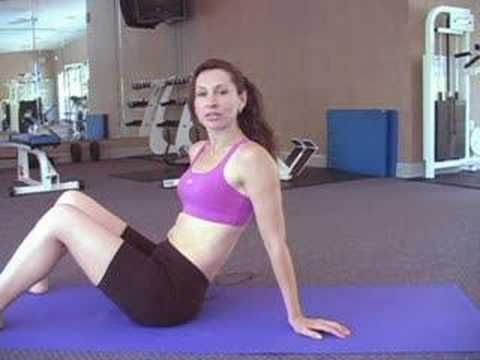 Beach Body Workout: Abs 1 - she seems super annoying, but looks like there are some good moves and only 5 mins.