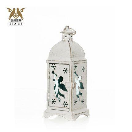 Танабата подарок Continental Железный Подсвечник белый фонарь кисти золото Рождественская елка Рождественские подарки лосей Angel Lover