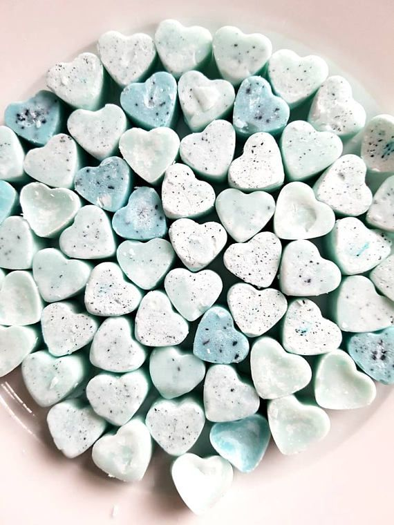 Bluebell Woods Wax Melts £2 https://www.etsy.com/uk/listing/513790160/bluebell-woods-heart-shaped-wax