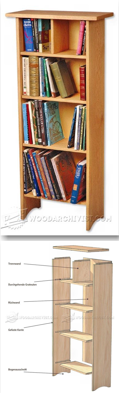 Library chair plans - Bookshelf Plans Furniture Plans And Projects Woodarchivist Com