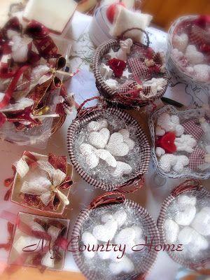 MY COUNTRY HOME: Confezioni natalizie