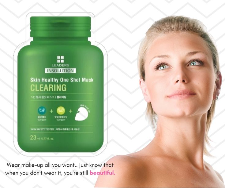 The Skin Healthy One Shot Mask for Clearing contains green algae that are enriched with essential amino acids, vitamins, and beta-carotene that help to make skin clear. Get natural beauty tips @ https://leadersskin.com/?utm_content=buffercb181&utm_medium=social&utm_source=pinterest.com&utm_campaign=buffer #facemask #clearing #makeupfree #naturalbeauty