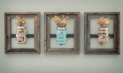 Etsy Love: Mason Jar Wedding Decorations