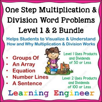 one step equations multiplication and division pdf