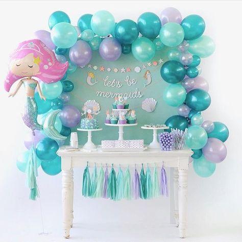 97 отметок «Нравится», 2 комментариев — Sweet Memories Party (@sm_party) в Instagram: «Скорее созывайте всех русалок и спешите к нам в #sm_party_блог любоваться Mermaid Party от наших…»