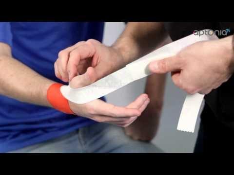 Comment faire un strapping du poignet - APTONIA