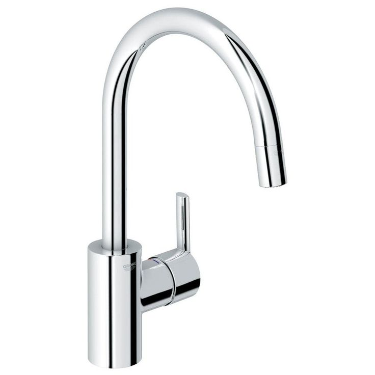 GROHE Feel Starlight Chrome 1-Handle Pull-Down Kitchen Faucet | Lowe's Canada