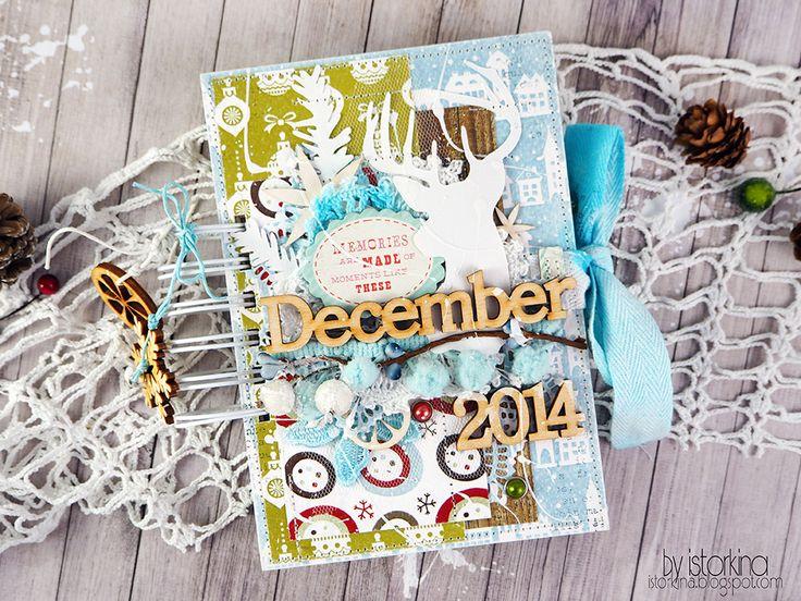 ............My-Scrap.Ru...........: December Daily и о новогоднем настроении от Анастасии Исторкиной: