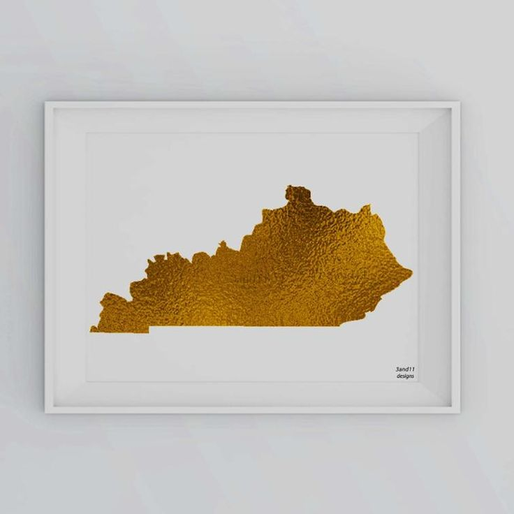 Kentucky Freeway Map%0A Kentucky State Silhoutte instant download gift art