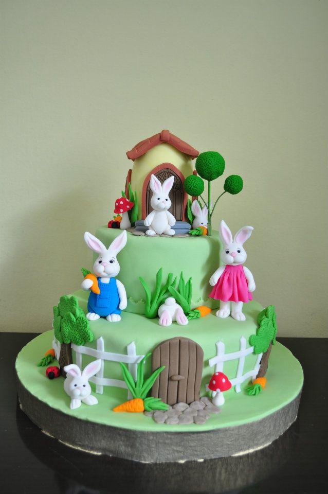 Images For Rabbit Cakes : Best 25+ Rabbit cake ideas on Pinterest Easter cake ...