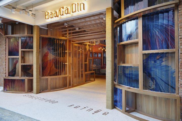 Baa/Ga/Din Thai street food restaurant by party/space/design, Bangkok – Thailand » Retail Design Blog